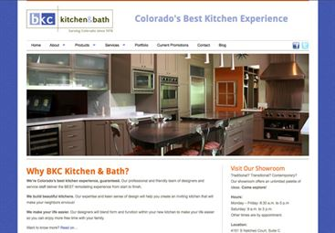 Insight Designs Web Solutions, LLC -BKC Kitchen and Bath ...